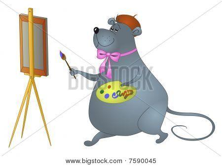 Rat-artist