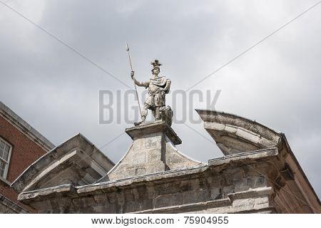 Statue At Dublin Castle
