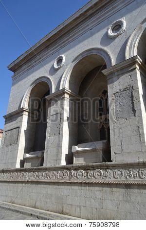 Fragment Of Tempio Malatestiano