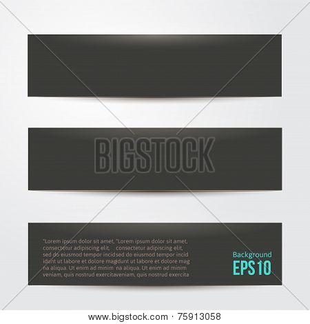 pure black background for your design. vector illustration