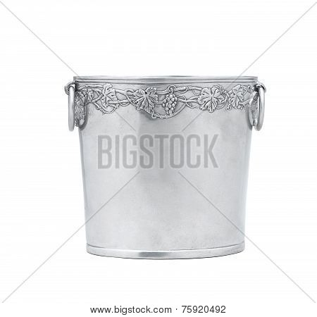 Elegance pewter ice bucket