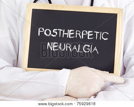 Doctor Shows Information: Postherpetic Neuralgia