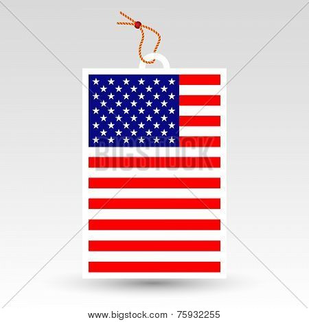 Vector Simple American Price Tag
