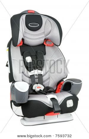 Car Seat Isolated