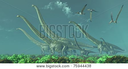 Mamenchisaurus Dinosaur Travels