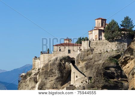 The Holy Monastery Of Varlaam, In Greece