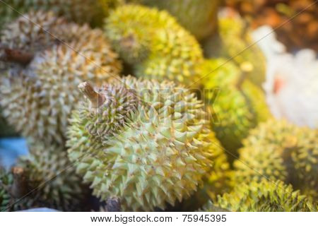 Durian On The Counter