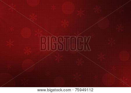 Dark Red Christmas Background