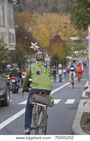 Pumpkin Pedalers Ride Through Asheville