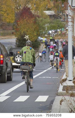 Pumpkin Pedalers Ride Off