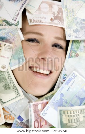 Face In Money