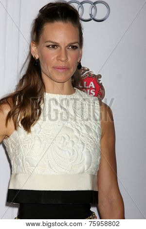 LOS ANGELES - NOV 11:  Hilary Swank at the