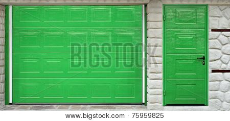 Automatic Roll-up Garage Gate And Door