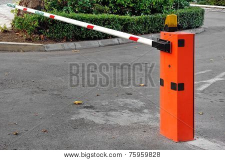 Automatic Barrier At Private Zone