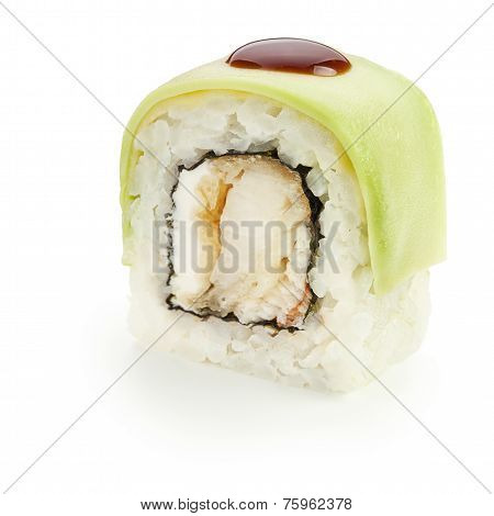 Avocado Uramaki Roll