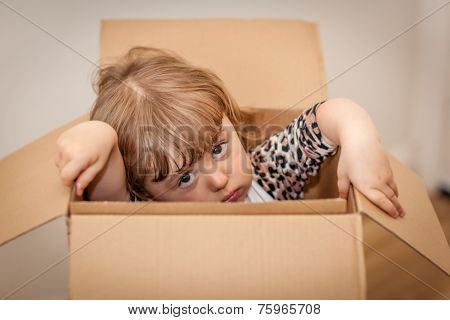 Girl out of the box