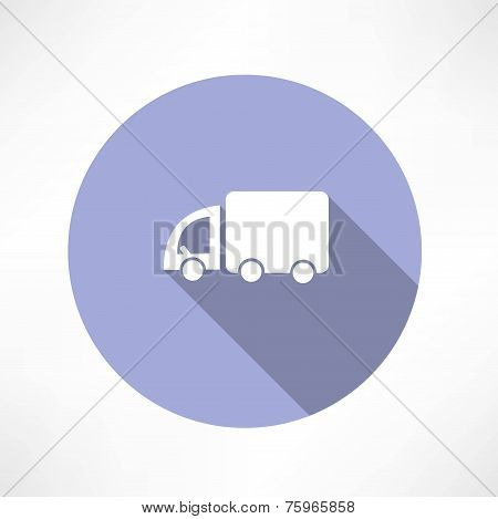 Truck transport icon