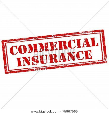 Commercial Insurance-stamp