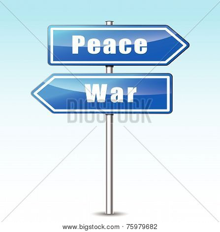 War And Peace Concept