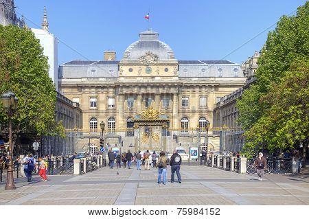 Paris. Palace Of Justice