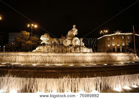 Cibeles Fountain. Madrid