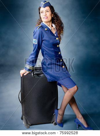 Flight Attendant.