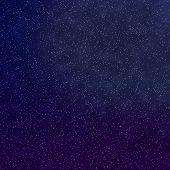 Постер, плакат: Синие и фиолетовые Тулайт звёзд