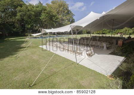 Tent Decor Party Outdoors
