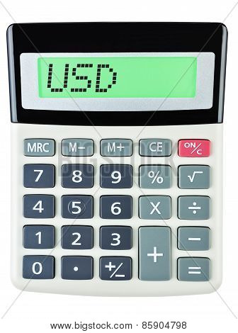 Calculator With Usd