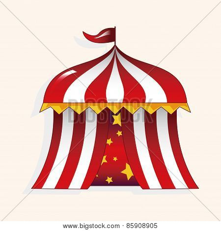 Circus Tent Theme Elements Vector,eps