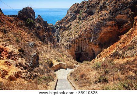 Ponta Da Piedade In Algarve