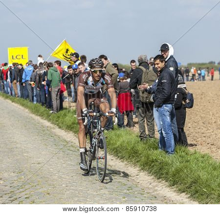 Damien Gaudin- Paris Roubaix 2014
