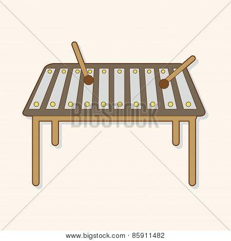 Music Glockenspiel Theme Elements Vector,eps