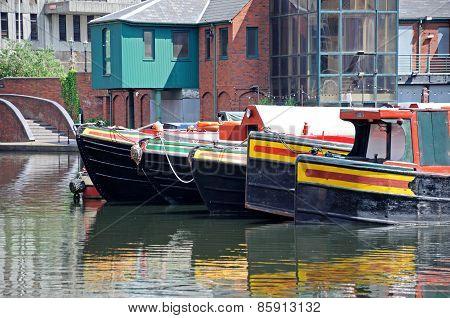 Canal Basin, Birmingham.