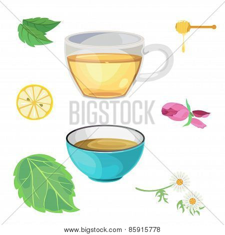 Tea-glass