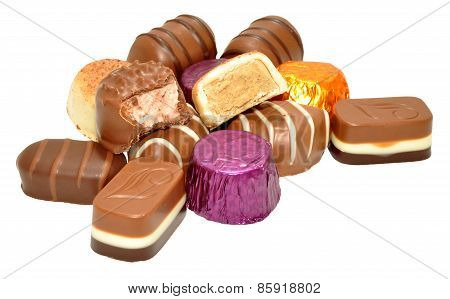 Group Of Chocolates