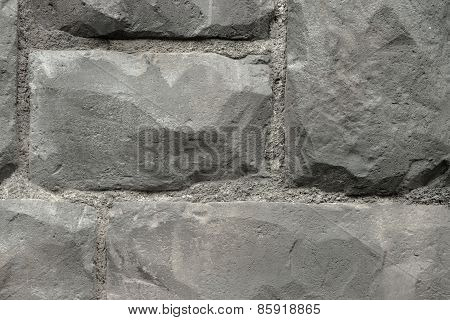 Old Rock Concrete Wall Background
