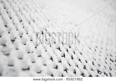 Snow Grid Background