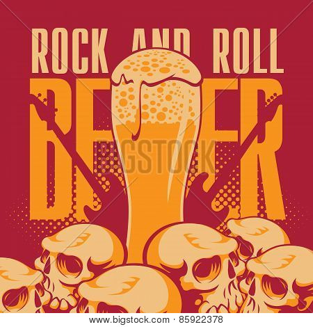 Beer and rock 'n' roll