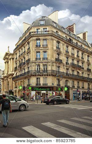 Beautiful Building In Paris