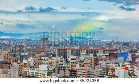 Osaka Cityscape in Osaka Japan