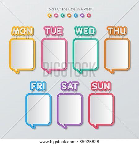 Paper Speech Bubbles Infographics