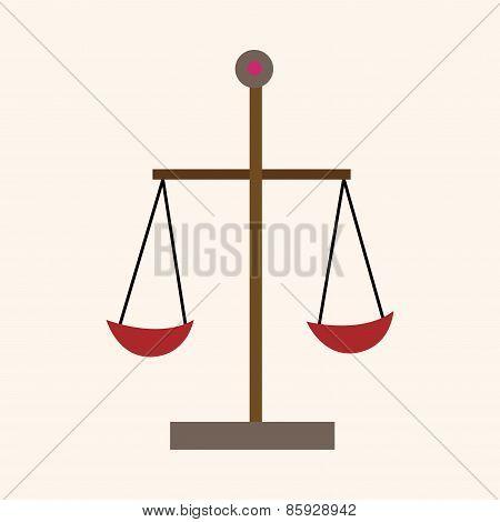 Judge Balance Theme Elements Vector,eps