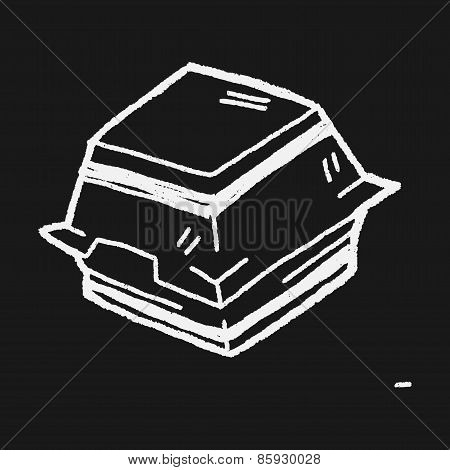 Doodle Burger Box