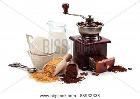 Coffee Ingredients.