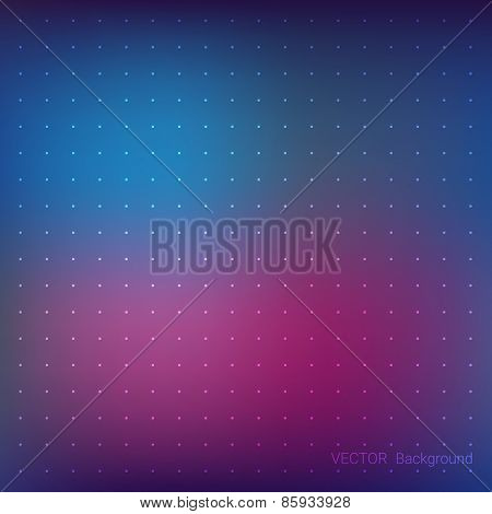 Blurred Background Abstract vector with point grid