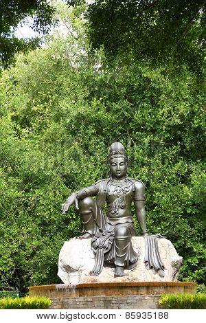 Female Goddess Chinese Buddha (quan Yin)