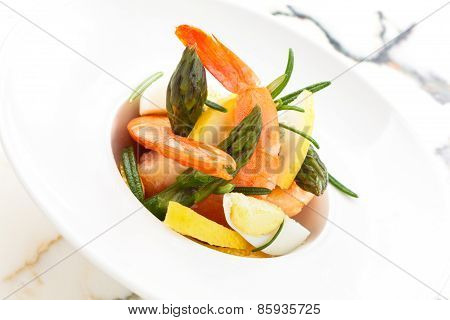 Salad With Prawns