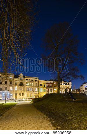 Frankenberger Viertel At Night, Aachen