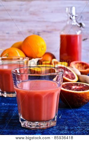 The Juice From Citrus Fruits